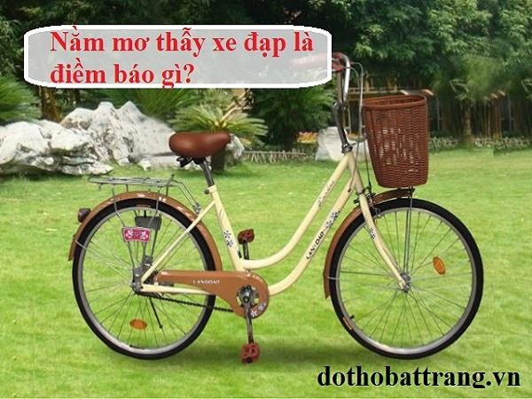 Giải mã giấc mơ thấy mất xe đạp