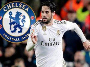 Chelsea lên kế hoạch đàm phán Isco của Real Madrid