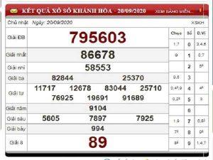 Tổng hợp dự đoán KQXSKH ngày 23/09/2020 - xổ số khánh hòa thứ 4