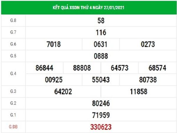 Dự đoán XSDN 3/2/2021