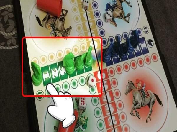Luật chơi cờ cá ngựa - Về Chuồng