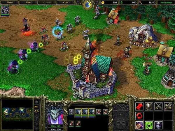 Game chiến thuật chơi online trên máy tính