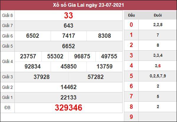 Soi cầu XSGL 30/7/2021 chốt loto số đẹp Gia Lai thứ 6