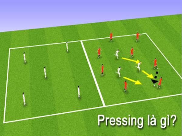 Pressing là gì? Một số pressing phổ biến trong bóng đá