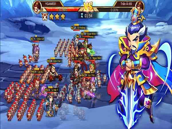 Game chiến thuật mobile - Tam quốc chiến