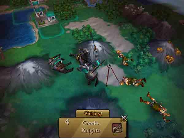 Game dàn trận mobile - Civilization Revolution 2