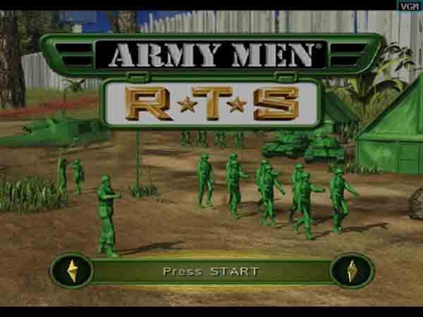 Army Men: RTS – game xây dựng quân đội hay và không đụng hàng